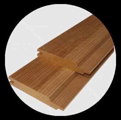 Csomós hőkezelt (thermowood) finn erdei fenyő lambéria 15x92mm