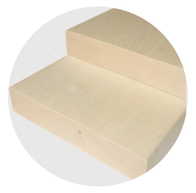Csomómentes finn nyárfa padléc 28x120mm