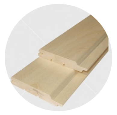 Csomómentes nyárfa lambéria 12x90mm
