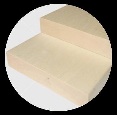 Csomómentes finn nyárfa padléc 28x140mm