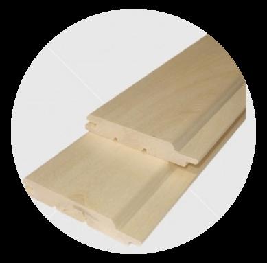 Csomómentes nyárfa lambéria 15x90mm