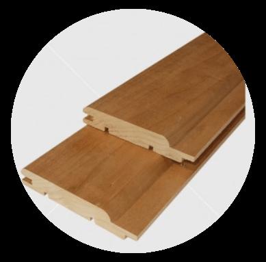 Csomómentes hőkezelt (thermowood) nyárfa lambéria 15x90mm